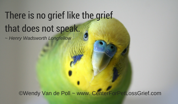 Loss Of A Pet Quote Awesome Pet Loss Quotes  Center For Pet Loss Grief